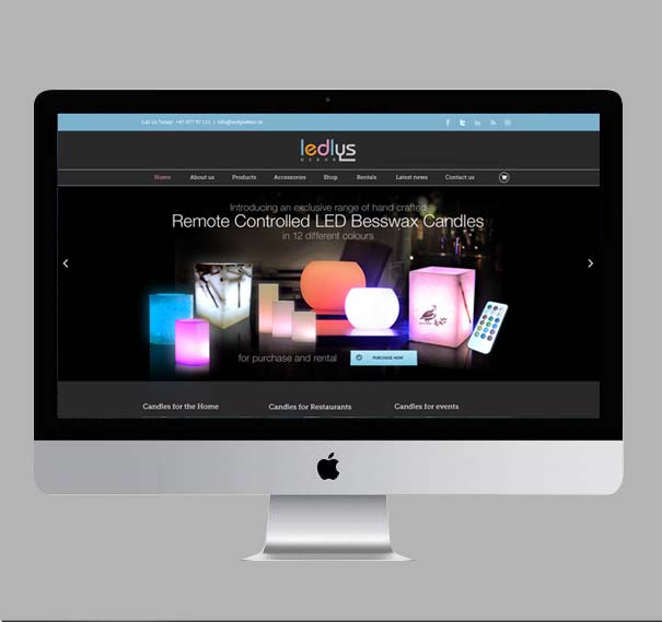 Interior Dekor Website Designs